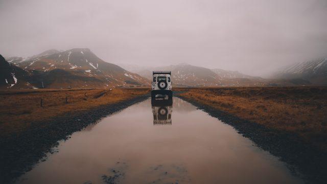 Avventura Land Rover altopiano montagna