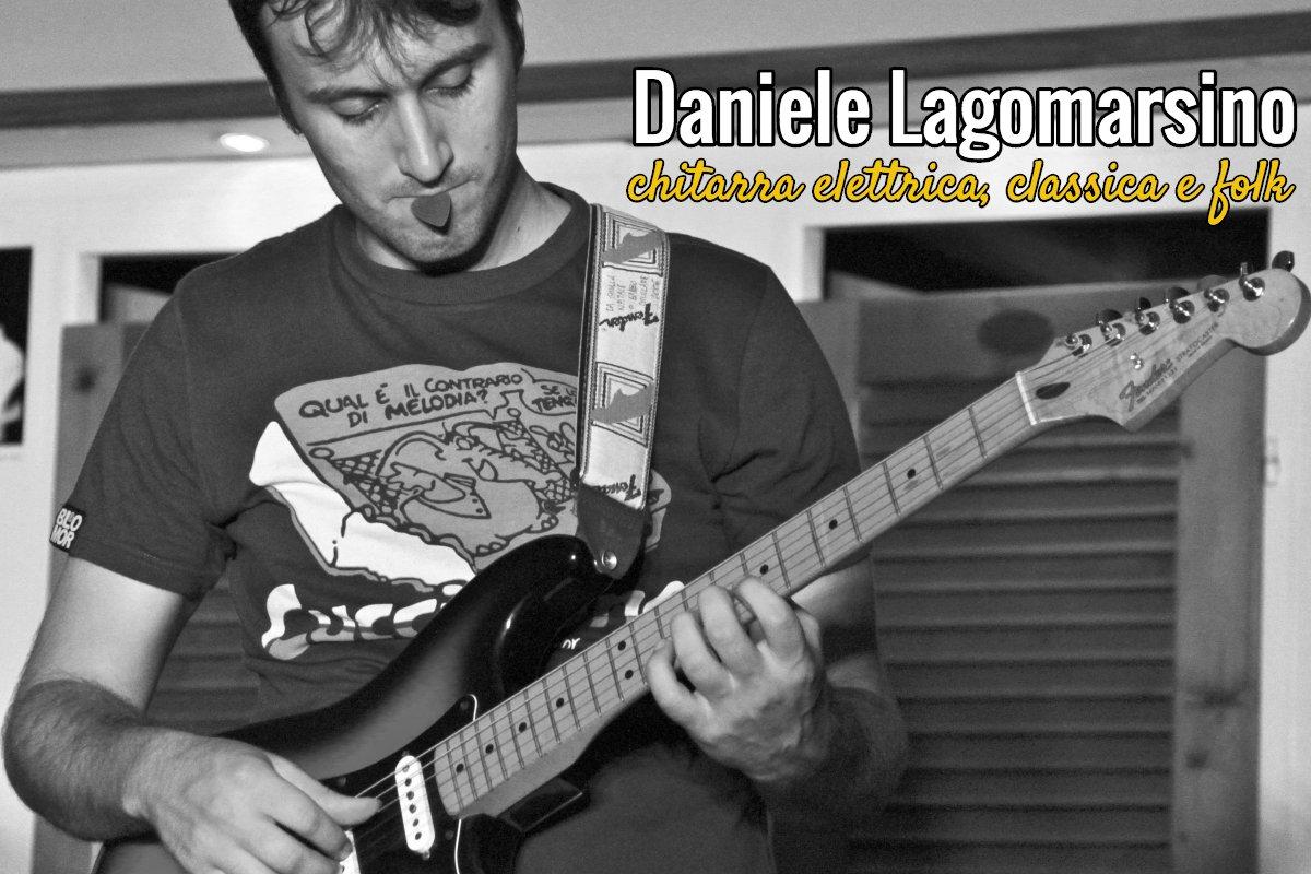Daniele Lagomarsino – Chitarra elettrica, classica e folk