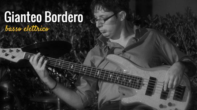 Gianteo Bordero – Basso elettrico