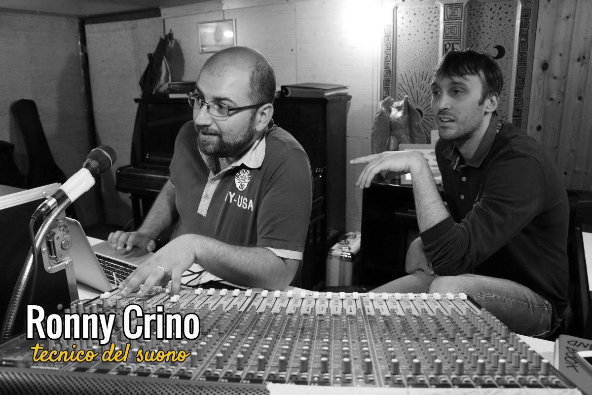Ronny Crino – Tecnico del suono