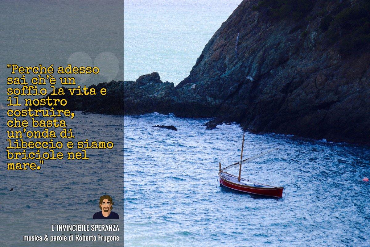 Cartolina Roberto Frugone – L'invincibile speranza