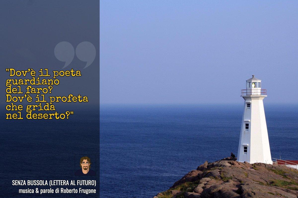Cartolina Roberto Frugone - Senza bussola