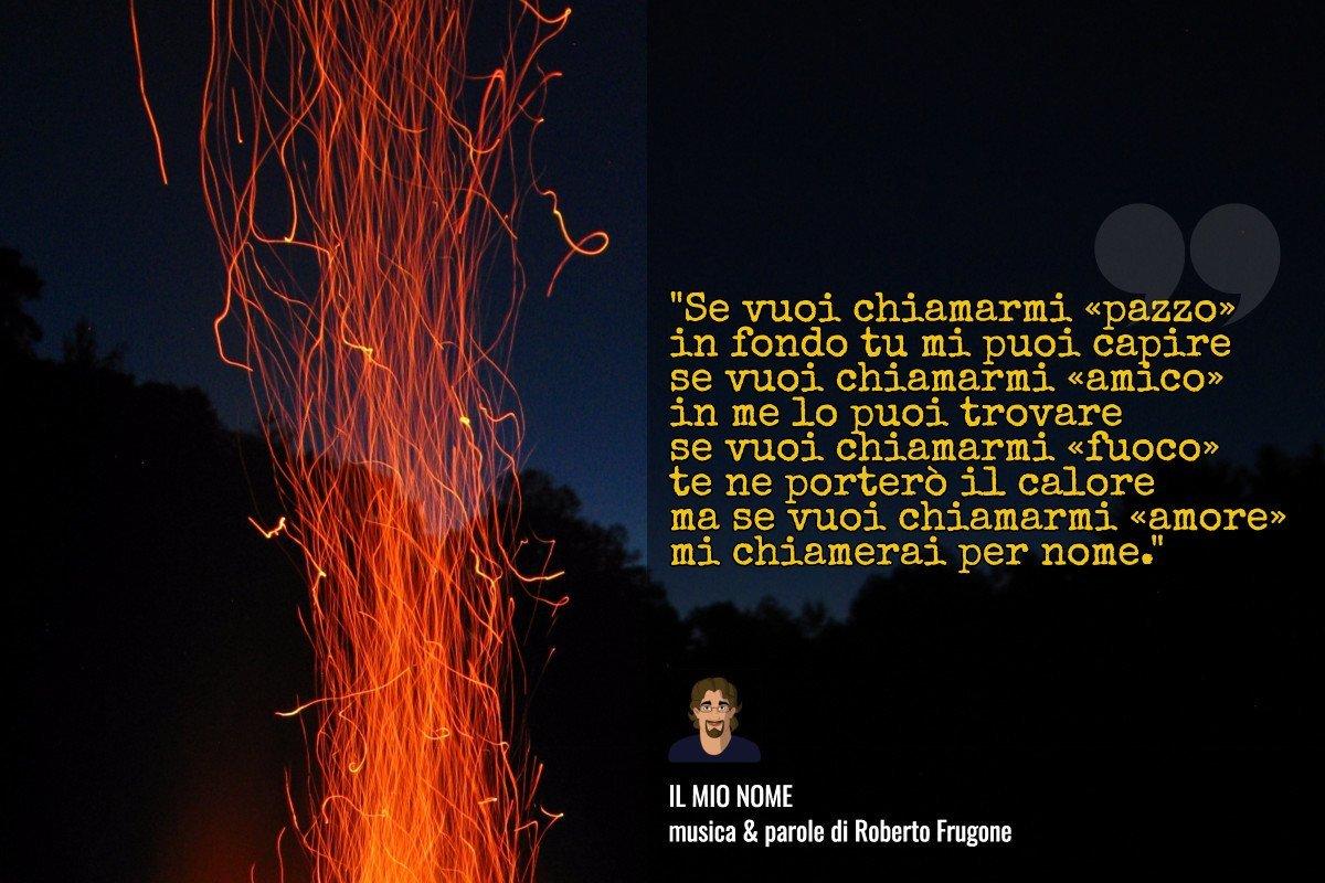 Copertina Roberto Frugone – Il mio nome