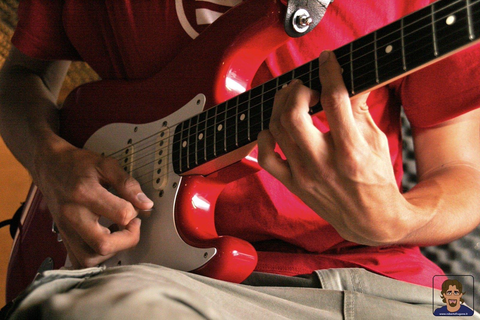 Totem Studio Sala Prove Musicali Casarza Ligure Adriano Fontana – foto Lamberto Salvan