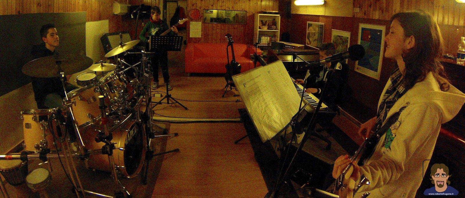 Totem Studio Sala Prove Musicali Casarza Ligure Laboratorio Musica d'Insieme 01