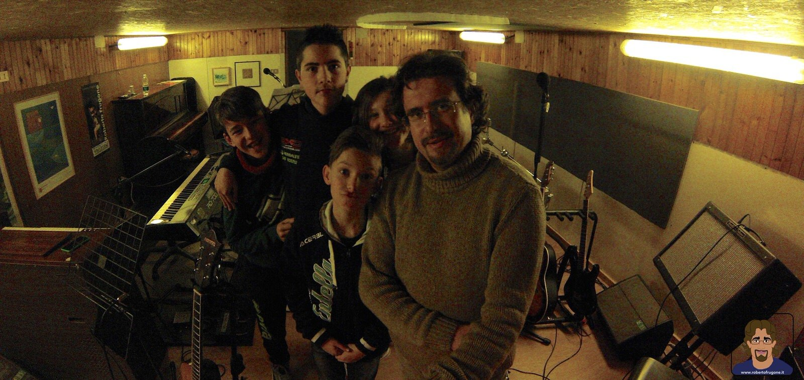 Totem Studio Sala Prove Musicali Casarza Ligure Laboratorio Musica d'Insieme 03