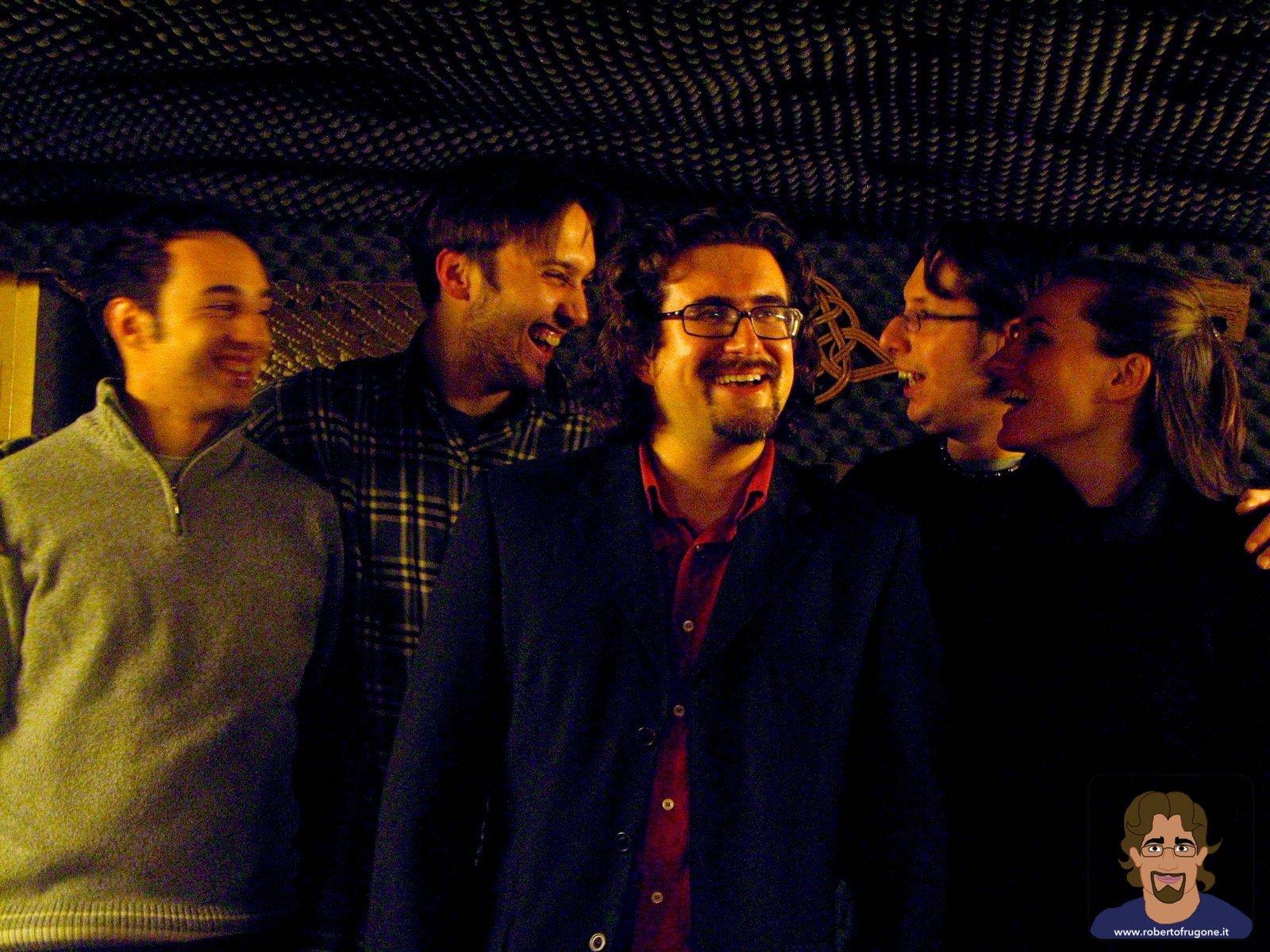Totem Studio Sala Prove Musicali Casarza Ligure Roberto Frugone Band 2008 – foto Claudia Sanguineti