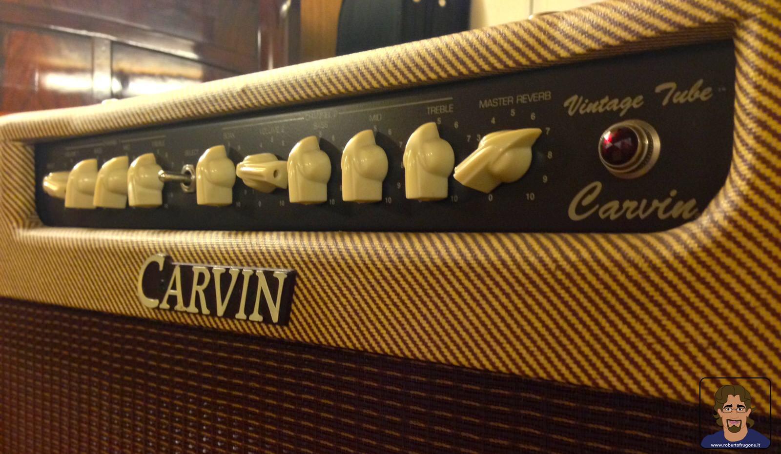 Totem Studio Sala Prove Musicali Casarza Ligure amplificatore Carvin Belair