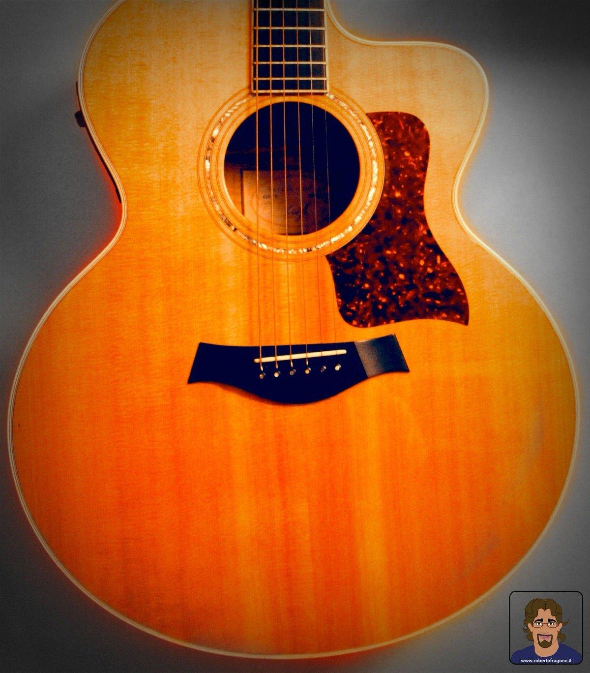Totem Studio Sala Prove Musicali Casarza Ligure chitarra acustica Taylor 615 CE