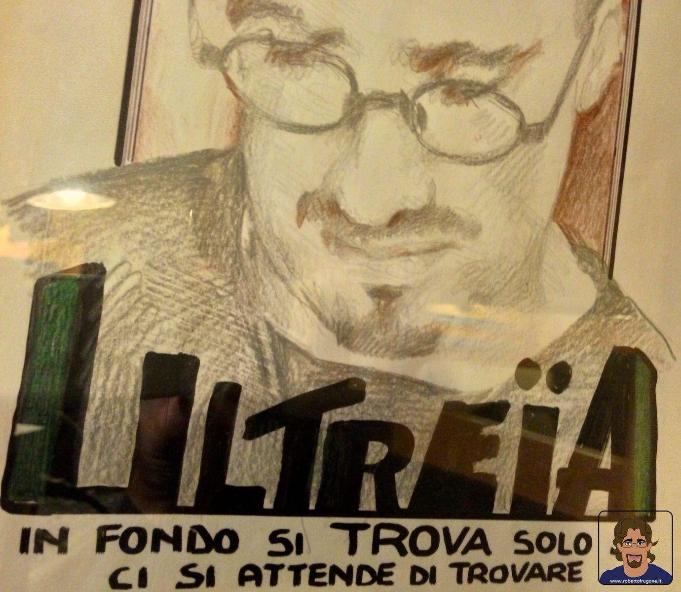 Totem Studio Sala Prove Musicali Casarza Ligure disegno copertina album Ultreia