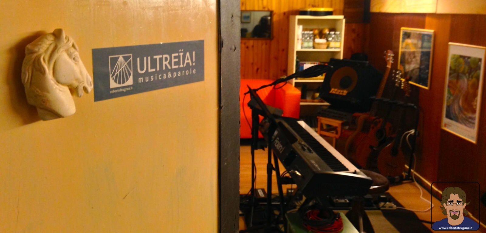 Totem Studio Sala Prove Musicali Casarza Ligure ingresso