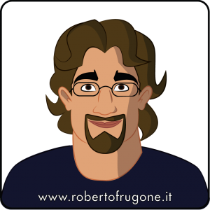Logo Roberto Frugone Tshirt app web