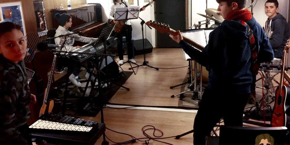 Copertina Laboratorio Musica d'Insieme Roberto Frugone