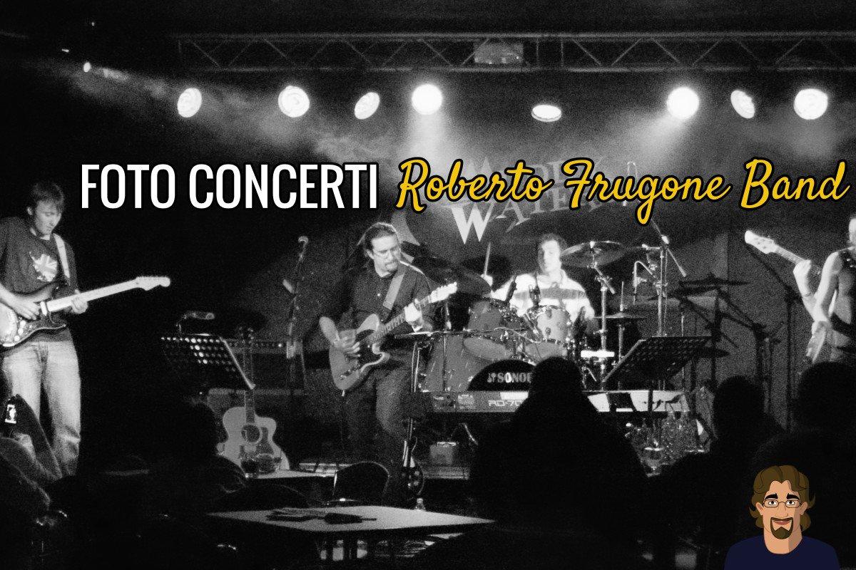 Foto Concerti Roberto Frugone Band