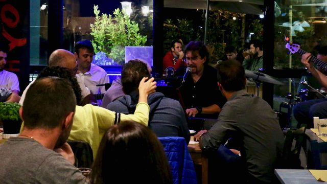 Roberto Frugone Band Live @La Stiva Chiavari 2017.09.28 - 11