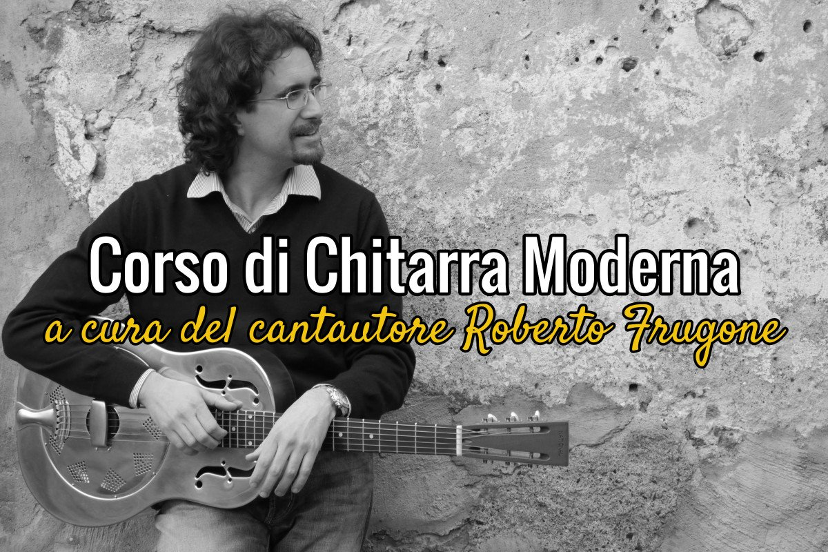 Roberto Frugone – Copertina Corso di Chitarra Moderna