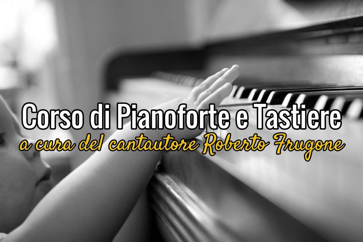 Roberto Frugone – Copertina Corso Pianoforte e Tastiere 1