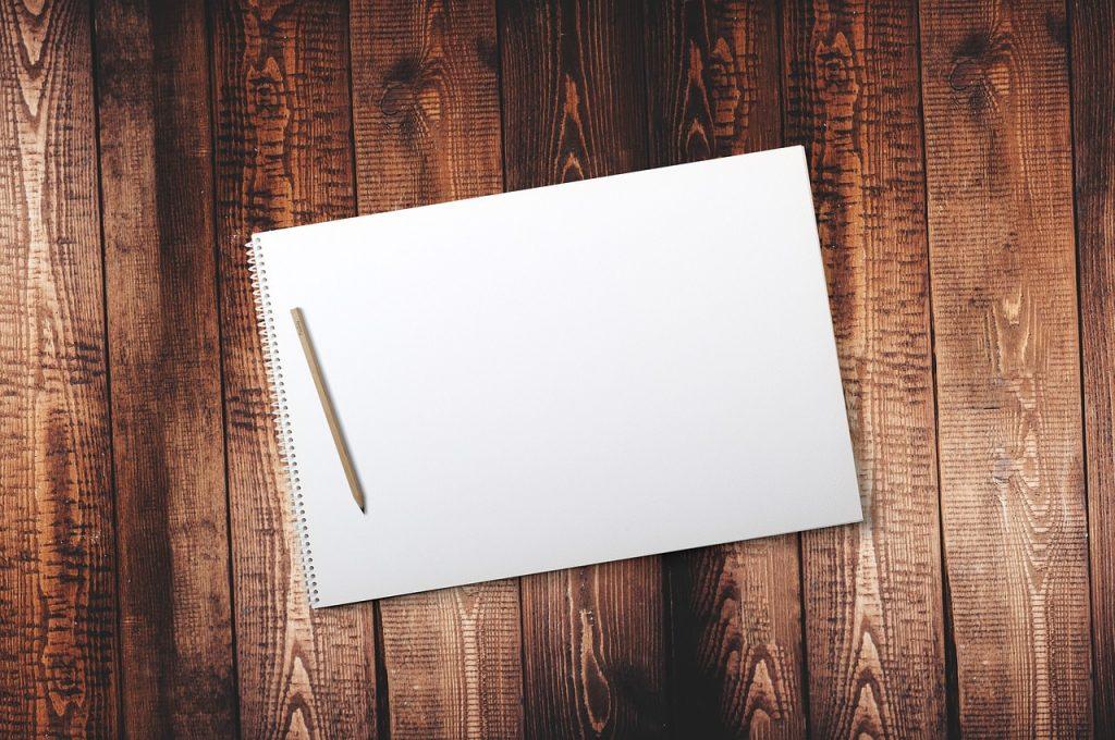 scrittura scrivere blocco note fogli tavola legno
