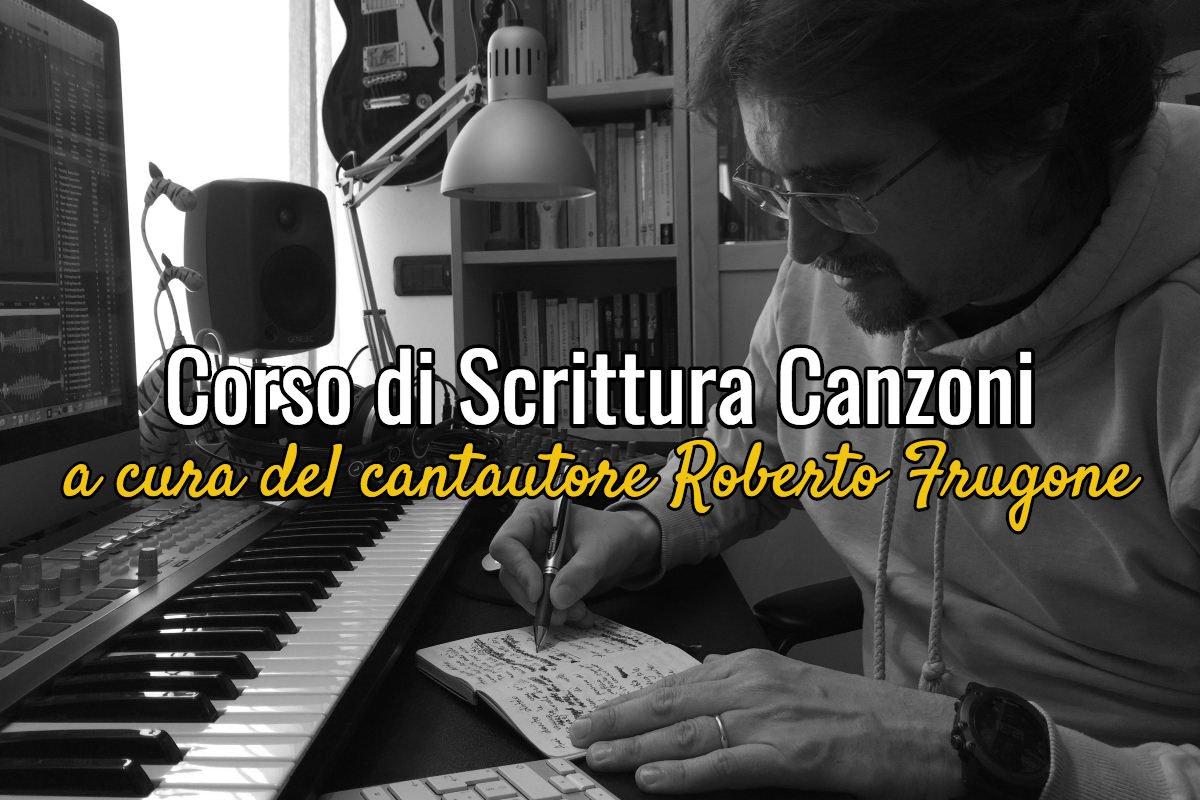 Copertina Corso Scrittura Canzoni Roberto Frugone