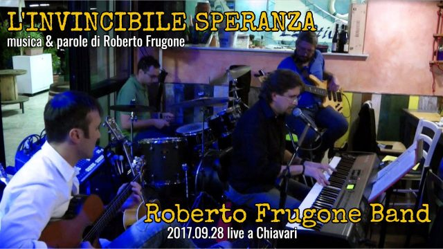 Cover L'invincibile Speranza Live