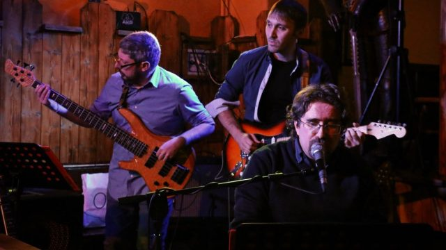 Roberto Frugone Band in concerto @Excalibur Pub 2018.02.08