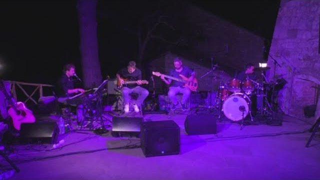 TeleRadioPace - Invertista concerto Leivi Roberto Frugone Band 2018.08.09