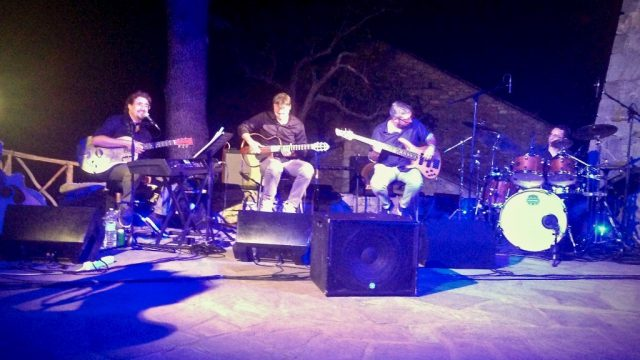 Roberto Frugone Band in concerto a Leivi
