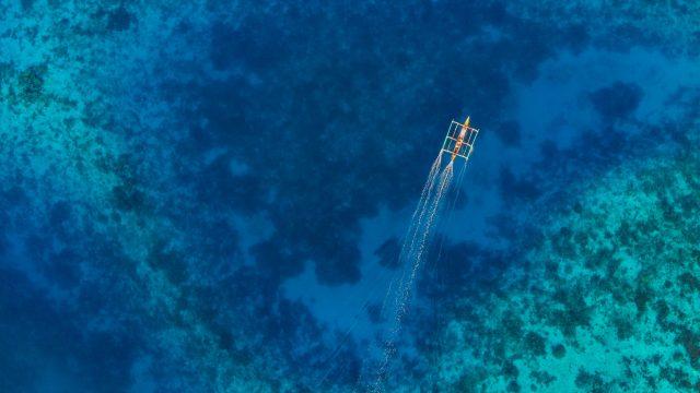 Rene Padillo - Catamarano nel blu